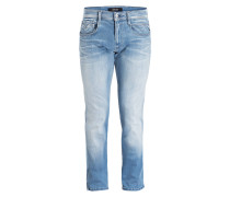 Jeans ANBASS HYPERFLEX Slim-Fit - blau