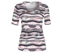 T-Shirt - weiss/ rosa/ marine