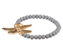 Armband - gold/ grau