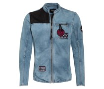 Overshirt mit Patches