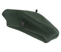 Baskenmütze FLORA - grün