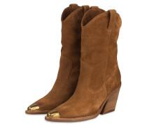 Cowboy Boots - COGNAC