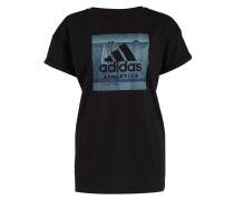 T-Shirt ID ATHLETICS MANTRA - schwarz