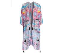 Kimono LESA - blau/ gelb/ rot