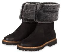 Boots VERONIKA mit Fellbesatz