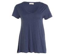 T-Shirt JACKSONVILLE - blau meliert