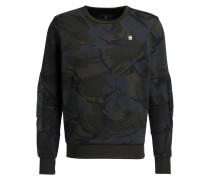 Sweatshirt - dunkelgrün/ khaki/ dunkelgrau