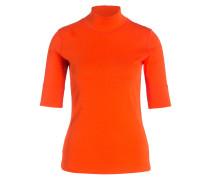 Rollkragenshirt - orange
