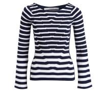 Pullover SELENE - navy/ weiss