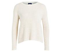 Pullover mit Knopfleiste am Rücken