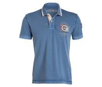 Piqué-Poloshirt GANDY - blau