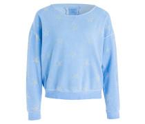 Sweatshirt CREW BOXY STAR - blau