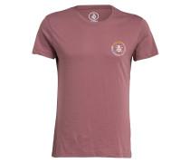 T-Shirt - mauve/ rot