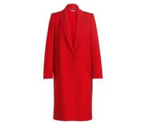 Mantel mit Cashmere-Anteil - rot