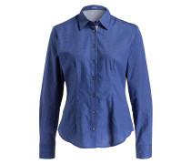 Bluse LIZ - blau/ weiss