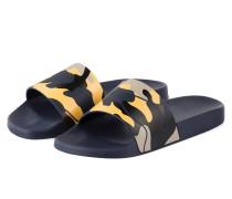 Sandalen CAMOUFLAGE - blau/ gelb/ sand