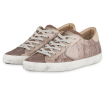 Sneaker PARIS mit Pailletenbesatz