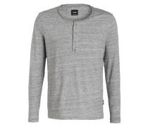 Henley-Shirt J-LOOM-SL - grau