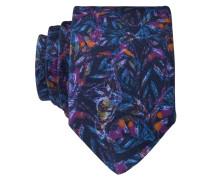 Krawatte - blau/ rosa
