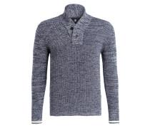 Pullover DADIN - marine/ grau meliert