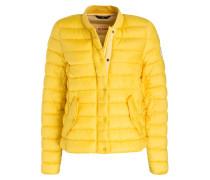 Steppjacke - gelb