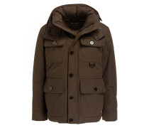 Daunen-Fieldjacket - khaki