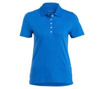 Jersey-Poloshirt - royal