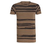 T-Shirt - khaki/ braun