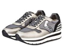 Plateau-Sneaker MAY POWER - GOLD/ GRAU