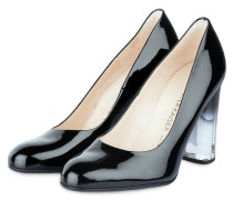 Lack-Pumps FLADEMARA - schwarz