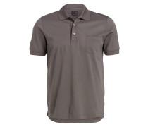 Piqué-Poloshirt modern fit - grau