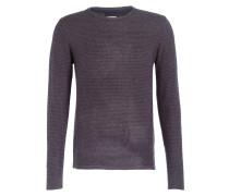 Pullover - braun/ navy