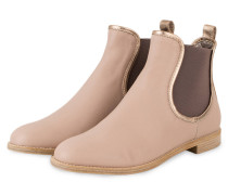 Chelsea-Boots - puder