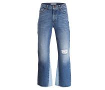 High-Waist Jeans - bluv blue vintage denim