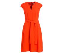 Kleid DOLIANA - orangerot