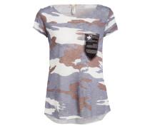 T-Shirt CAMP - blau