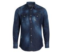 Jeanshemd - blau