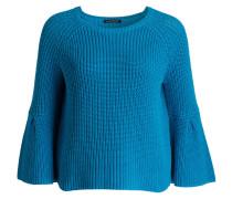 Strickpullover - blau