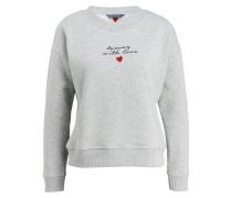 Sweatshirt TOMMY LOVE - grau meliert