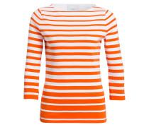 Shirt LOUNA mit 3/4-Arm - orange