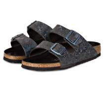 Sandalen ARIZONA - schwarz metallic