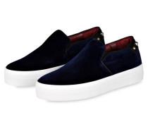 Slip-On-Sneaker FLOC - blau