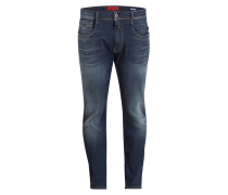 Jogg Jeans ANBASS Slim-Fit - 007 denim