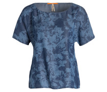 Shirt ENIMA - dunkelblau/ blau