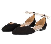 Ballerinas AMELIE - schwarz/ creme