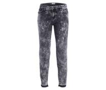 7/8-Jeans - denim schwarz