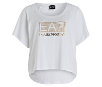 T-Shirt LOGO SERIES mit Schmucksteinbesatz
