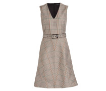 Kleid - beige/ mint/ orange