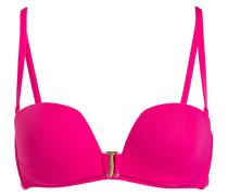 Bandeau-Bikini-Top - pink