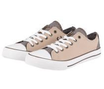Sneaker - hellbraun